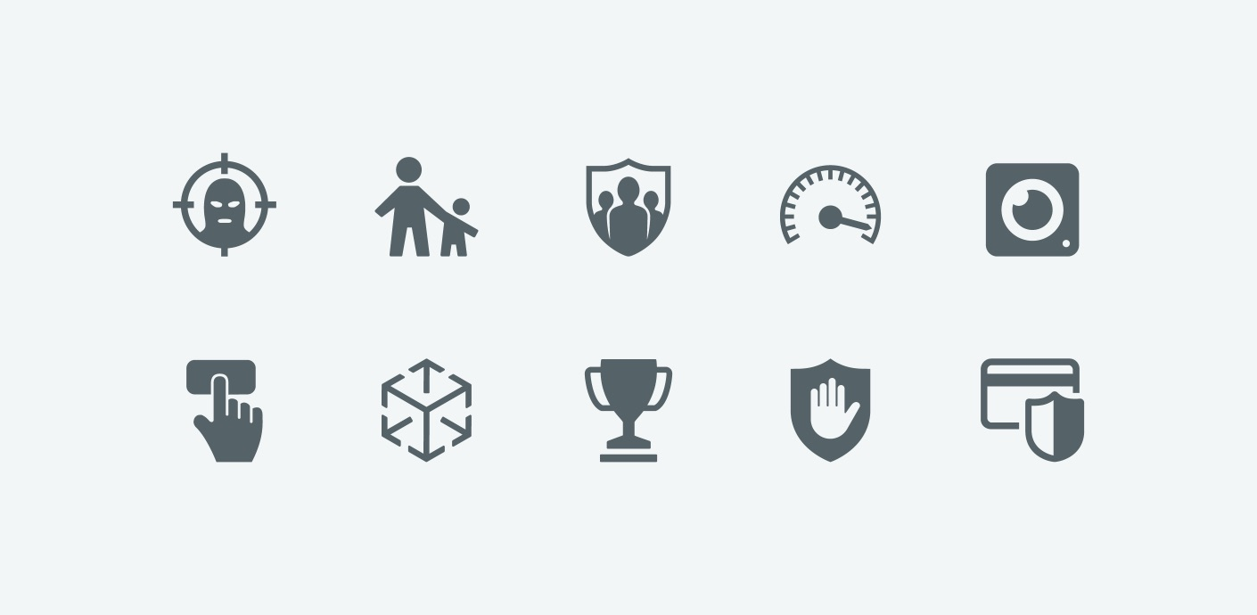 studio 001 eset icons design